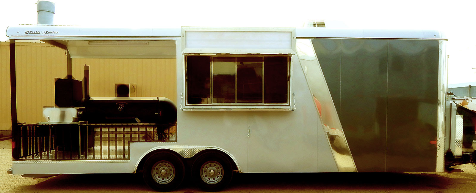 Double R Trailers Custom Enclosed In Nampa Id Snowmobile Trailer Wiring Diagram Concession