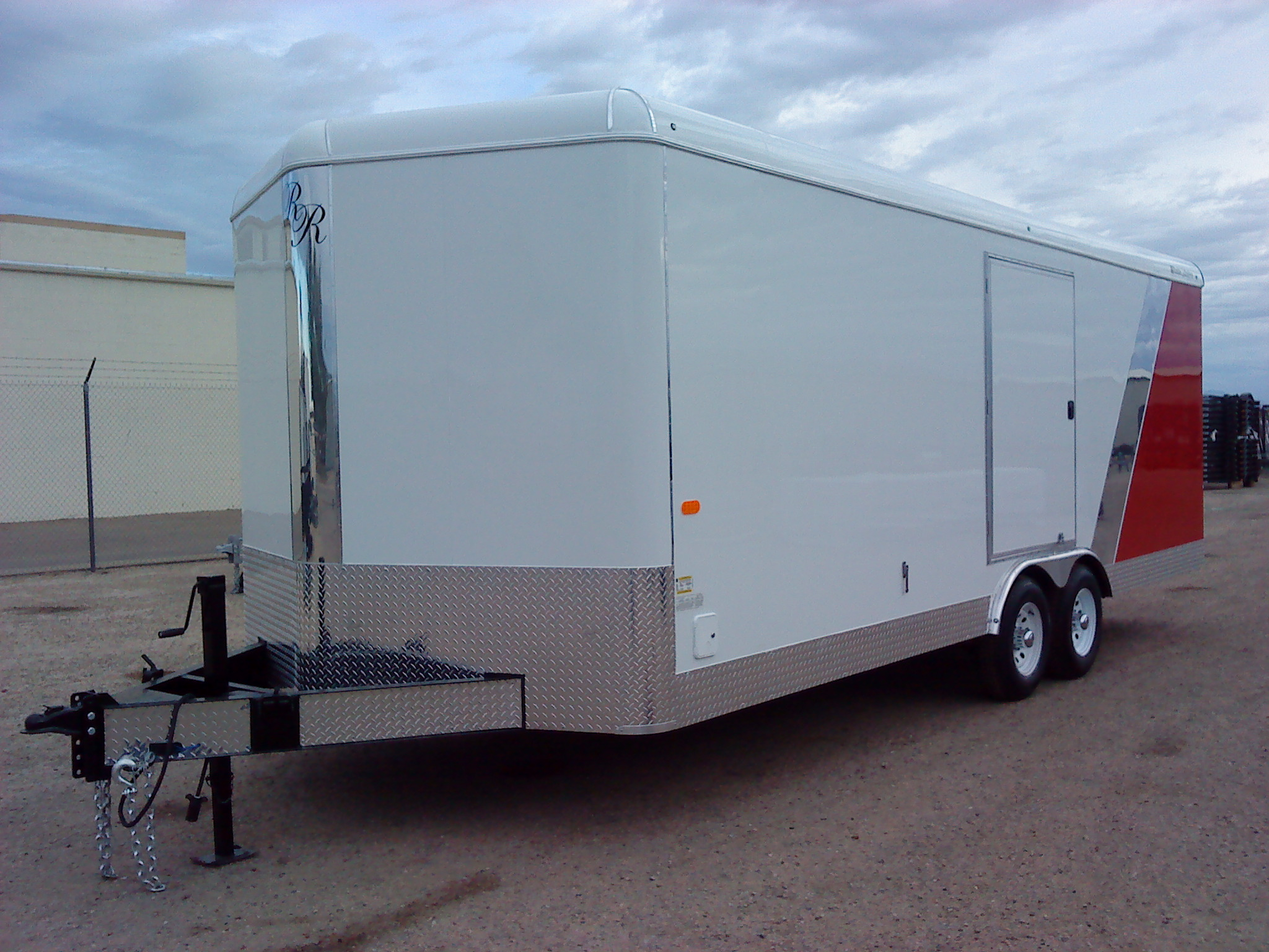 Double R Trailers Custom Enclosed In Nampa Id Wiring Diagram Wells Cargo Trailer Cars Trucks